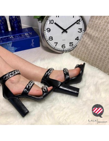 Sandalo Catene nero