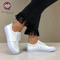 Sneakers Step bianche
