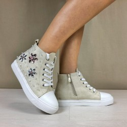 Sneakers Jackie apricot