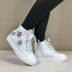 Sneakers Jackie bianche