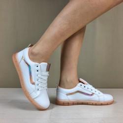 Sneakers Line rosa