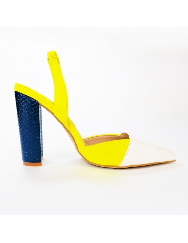 Sandalo con cinturino elastico White...