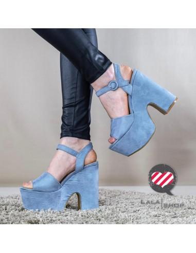 Sandalo Malaga blu
