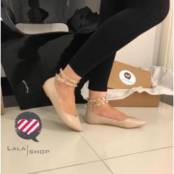 Ballerine laccino caviglia...